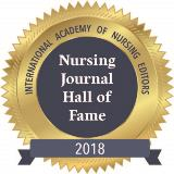 INANE Nursing Journal Hall of Fame 2018 inductee