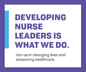 Developing Nurse Leaders is what we do.
