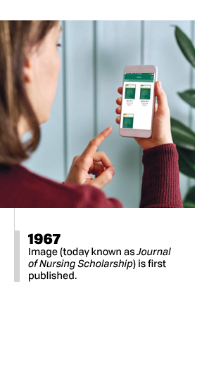 1967 - Image is first published